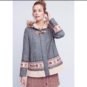 Elevenses Northerner Embroidered Coat